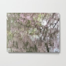 Little Norway - the reflecting pond Metal Print
