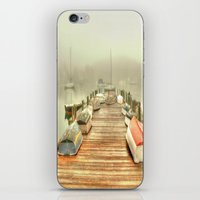 cape cod iPhone & iPod Skins featuring Cape Cod Mornings 2 by Raymond Earley