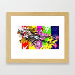 15:00 Framed Art Print