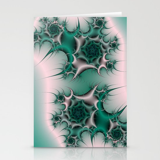 Spiral Cactus Stationery Cards