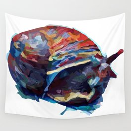 Cosmic Snail Wall Tapestry