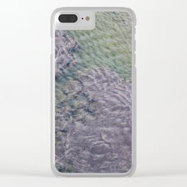 Water Currents No2 Clear iPhone Case