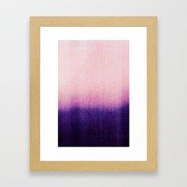 BLUR / abyss Framed Art Print
