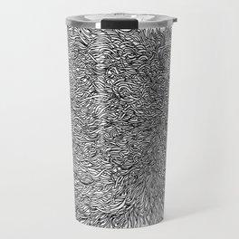 spaghetti texture Travel Mug