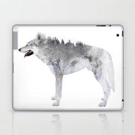 Winter Wolf Laptop & iPad Skin