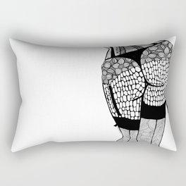 La femme 03 Rectangular Pillow