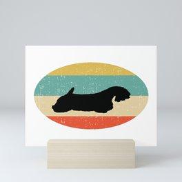 Sealyham Terrier Dog Gift design Mini Art Print