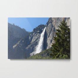 Yosemite Upper Falls Metal Print