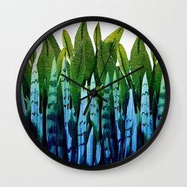 house plant Wall Clock