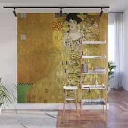 "Gustav Klimt ""Portrait of Adela Bloch-Bauer I"" Wall Mural"