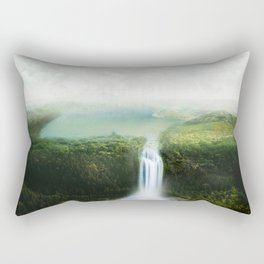 relaxing view Rectangular Pillow