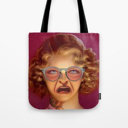 MY SMILE IS JUST A FROWN TURNED UPSIDE DOWN Tote Bag