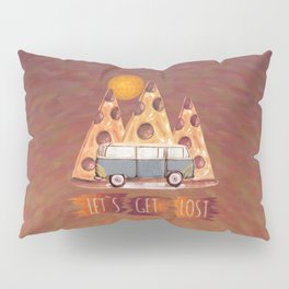 Lost Pizza Pillow Sham