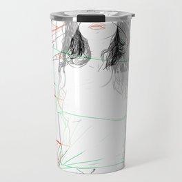 RED STRIP (combine series) Travel Mug
