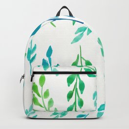 180726 Abstract Leaves Botanical 19|Botanical Illustrations Backpack