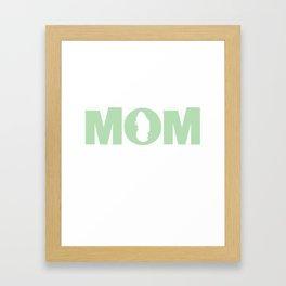 Teacher Mama Mother Mother Mother Teaching Gift Framed Art Print
