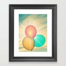 Oh the Places You'll Go! Framed Art Print