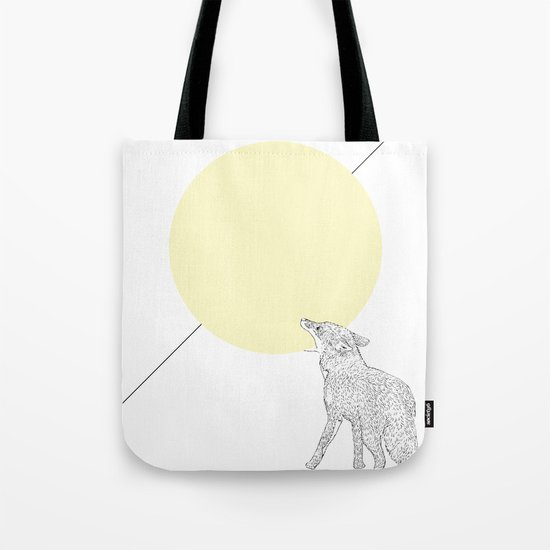 Bite the moon Tote Bag