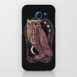 Owl Nouveau iPhone Case