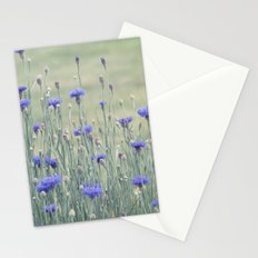 Field of Bachelor Buttons Stationery Cards