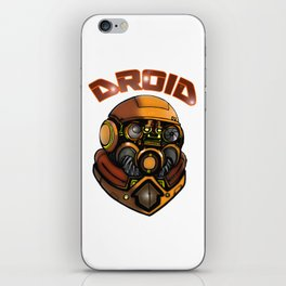 DROID77 iPhone Skin