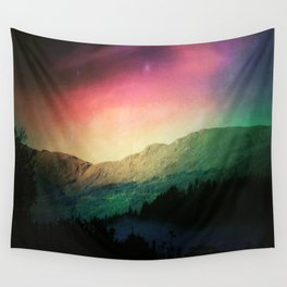 Scottish Mountains Wall Tapestry