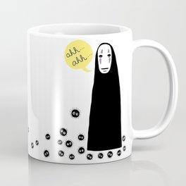 Spirited Away No Face Ahh..Ahh... Coffee Mug