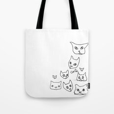 Cats Cat Tote Bag