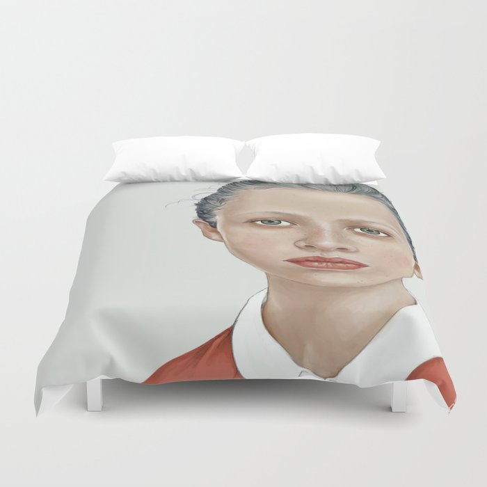 GIRL Duvet Cover