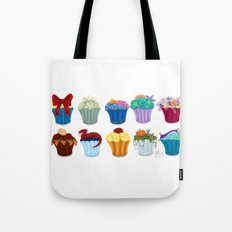 The Princess Cupcake Collection  Tote Bag