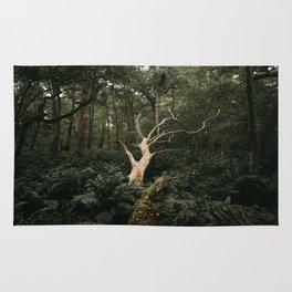 Sprawling Dead Tree Rug