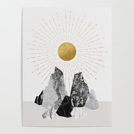 Rock Formation No.2 Poster