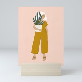plant shopping Mini Art Print