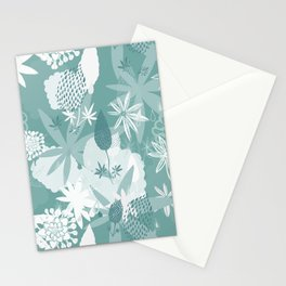 Lovely Lupins Seamless Repeating Pattern Stationery Cards