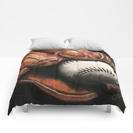 Baseball and Glove Comforters