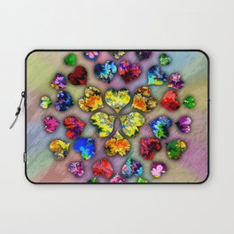 heart beat II Laptop Sleeve