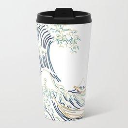 Minimal Wave Travel Mug