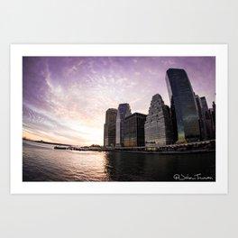 Painting Skies Art Print