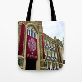 Keating Hall at Fordham University Commencement  Tote Bag