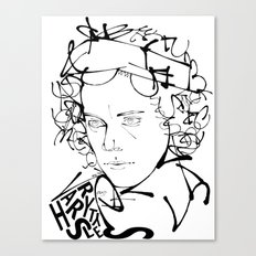 Typographic Harry Canvas Print
