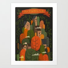 An Fhomhair (Autumn) Dark Art Print