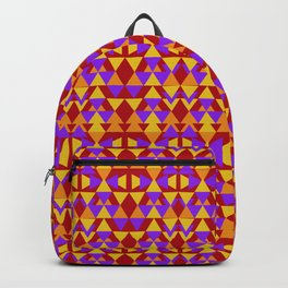 aztec pattern, tribal background Backpack
