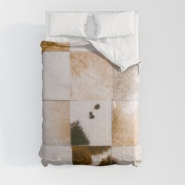 Cattle Cowhide Patchwork [i.2021] Comforters