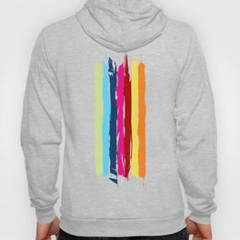 Multicolor stripes background Hoody