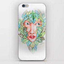 Leafy iPhone Skin