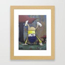 bottoms up Framed Art Print