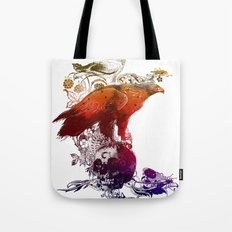 the watchers 3 color version Tote Bag