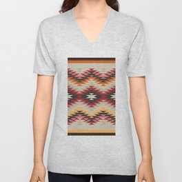 American Native Pattern No. 178 Unisex V-Neck