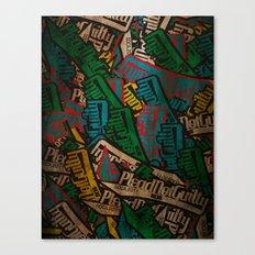 Slapbox Canvas Print