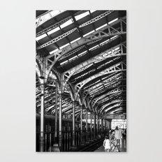 Steeples of Steel Canvas Print
